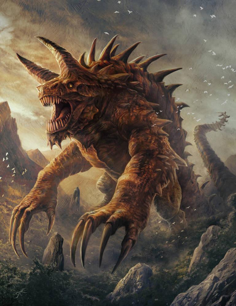 Uccidere il Tarrasque a livelli bassi – Pathfinder